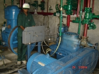 Refrigeration Plant in operation