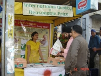 Attracting new  customers through promotional schemes